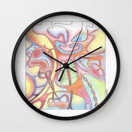 3 Artist Part 3 Wall Clock