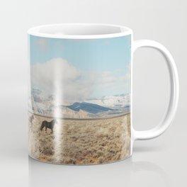 Running Reservation Horses Coffee Mug
