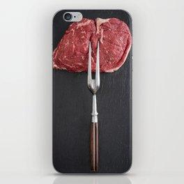 Rib eye steak iPhone Skin