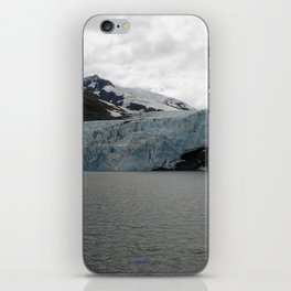 TEXTURES -- A Face of Portage Glacier iPhone Skin