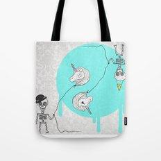 Skeletonia Tote Bag