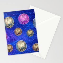 Full Moons Stationery Cards