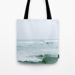 Tiny Surfers Lima, Peru 3 Tote Bag