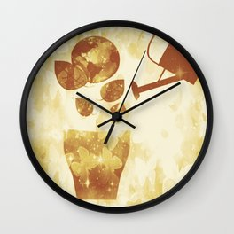 Water is Life-Earth Day 3 Wall Clock