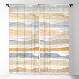 Mountain Layers Blackout Curtain