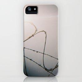 Razor Wire iPhone Case