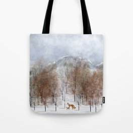nature will find a way deux Tote Bag