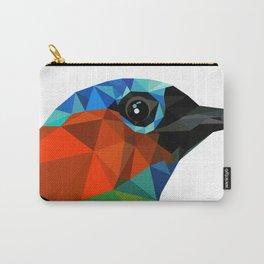 Bird art Saira Nature Animals Geometric Carry-All Pouch