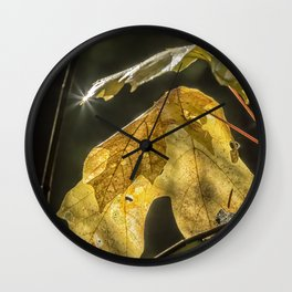 Touched by Light Wall Clock