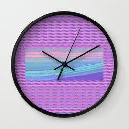 Piha Wave 2 Wall Clock