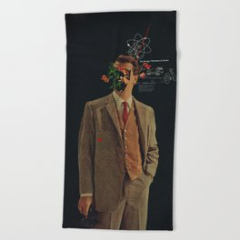 The Energy Vibrations Of Atoms Beach Towel