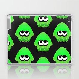 Splatoon Squid Pattern Green Laptop & iPad Skin