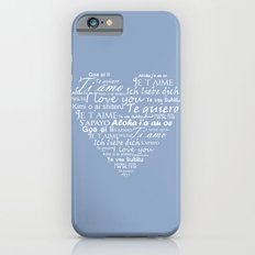 Heart I love you in other languages iPhone 6s Slim Case