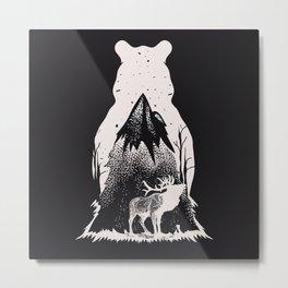 Dreaming Alaska Metal Print