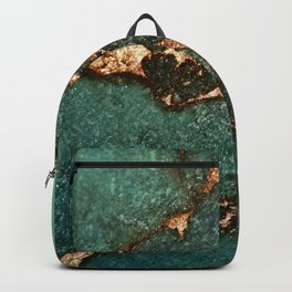 EMERALD AND GOLD Backpack