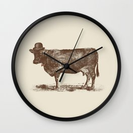 Cow Cow Nut #1 Wall Clock