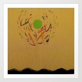 Shadarobah Sun Art Print
