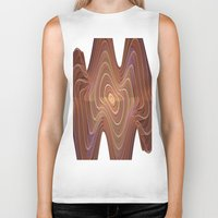 minerals Biker Tanks featuring Dancing Lines by thea walstra