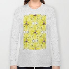 Flower Sketch 3 Long Sleeve T-shirt