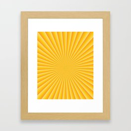 Good Morning Sunset Framed Art Print
