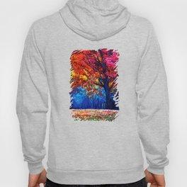 Tardis Tree Art Blossom Hoody