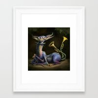 cheshire cat Framed Art Prints featuring Cheshire Cat by Bendragon