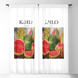 Kahlo - Viva la Vida Blackout Curtain