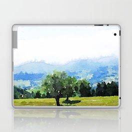 Fantastic Landscape, Austria 09,watercolor painting Laptop & iPad Skin