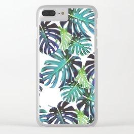 Monstera Bondi Clear iPhone Case