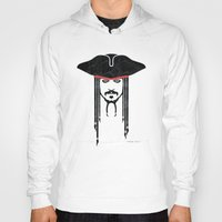 jack sparrow Hoodies featuring Iconic Sparrow by Arne AKA Ratscape