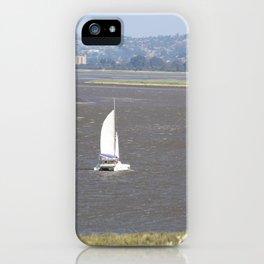 *Sailing into Launceston Tasmania* iPhone Case