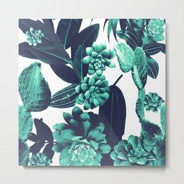 Cactus Design Metal Print