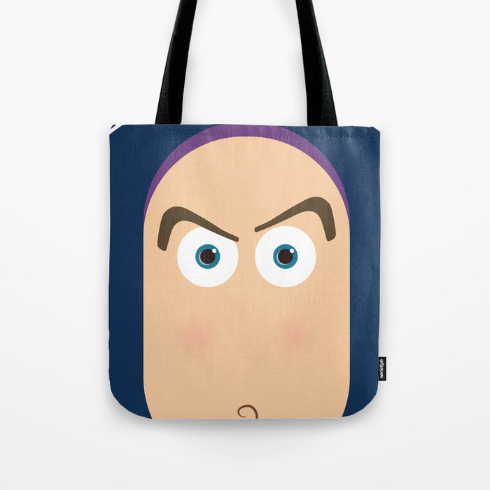 PIXAR CHARACTER POSTER - Buzz Lightyear - Toy Story Tote Bag