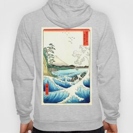 The Great Wave. The Sea At Satta Hoody
