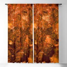 Amber Crystal Lights Blackout Curtain