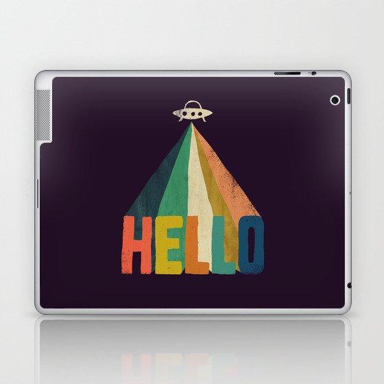 Hello I come in peace Laptop & iPad Skin