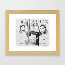Third Eye Blind Framed Art Print