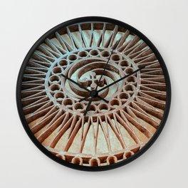 The Iron Lattice Wall Clock