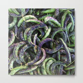kipfler beans Metal Print