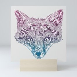 Fox (Clever) Mini Art Print