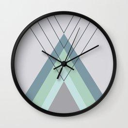 Iglu Mint Wall Clock