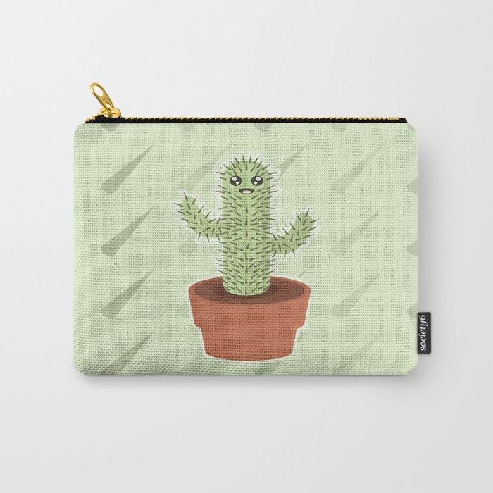 Kawaii Cactus Carry-All Pouch