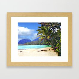 View from Waicocos Framed Art Print
