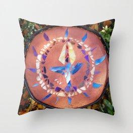 UU Mosaic Throw Pillow