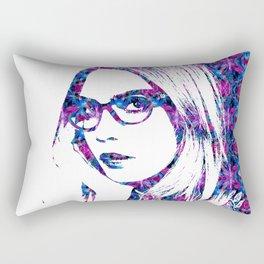 Cara in the city Rectangular Pillow