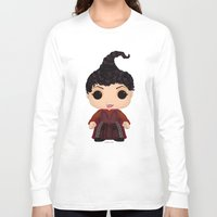 hocus pocus Long Sleeve T-shirts featuring Hocus Pocus Mary by SpaceWaffle