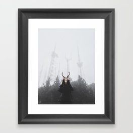The place beyond the pines Framed Art Print