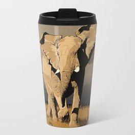 The Elephant's Marching Travel Mug