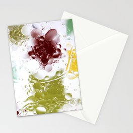 Oil & Water Stationery Cards