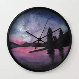 The Nightman Painteth Wall Clock